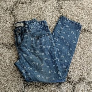 Free People Ditsy Floral Jeans